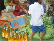 CHAB provided school materials to the kids