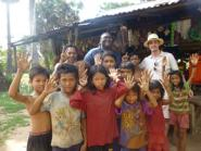 Village & school tour from CHAB's friends