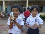 School materials from CHAB friends in Malaysia